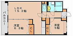 ジョイポルタ2[2階]の間取り