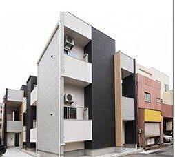 愛知県名古屋市昭和区鶴舞2丁目の賃貸アパートの外観