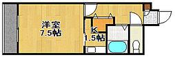 イーストフェアリー[305号室]の間取り
