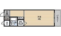 藤和シティコーポ新大阪[6階]の間取り