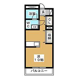 マンションアモーレ[1階]の間取り