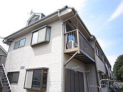 東京都練馬区石神井台5の賃貸アパートの外観