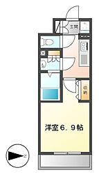 NS ZEAL大曽根[5階]の間取り
