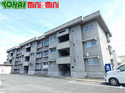 三重県松阪市駅部田町の賃貸アパートの外観