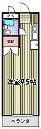 コアクレスト永山2[4階]の間取り