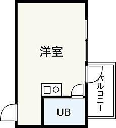 第1観音町ビル[4階]の間取り