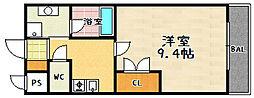 ソフィアコート[303号室]の間取り