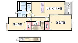 浜の宮駅 6.4万円