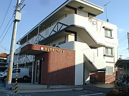 兵庫県加古川市平岡町一色西2丁目の賃貸マンションの外観