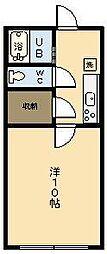 ベルレージュ宮崎2[102号室]の間取り