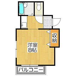 ミヤギマンション[303号室]の間取り