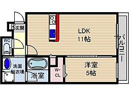 仮称)山崎マンション元町[3階]の間取り