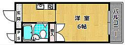 S・H星ヶ丘ハイツ[3階]の間取り