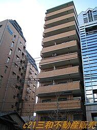 ライオンズマンション京都河原町[11階]の外観