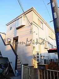 神奈川県横浜市神奈川区子安台2丁目の賃貸アパートの外観