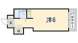 JOY姫路壱番館[409号室]の間取り