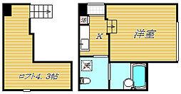 アークラティーダ[1階]の間取り