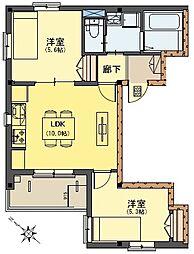 早宮1丁目ビル(仮称)[305号室]の間取り