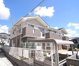 京都府京都市西京区山田御道路町の賃貸アパートの外観