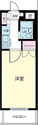 フェニックス早稲田[11階]の間取り