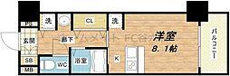 プレサンス東本町vol.2[4階]の間取り