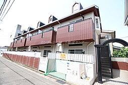 岡山県岡山市北区神田町2丁目の賃貸アパートの外観