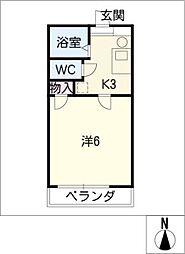 アーバン21[2階]の間取り
