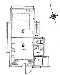トランスアパート[H号室号室]の間取り