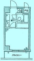 リーセントパレス宮崎[5階]の間取り