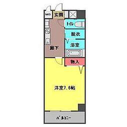 willDO勝川[702号室]の間取り