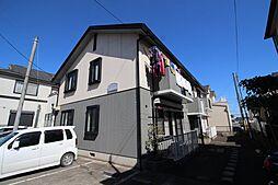 埼玉県新座市野寺2丁目の賃貸アパートの外観