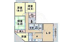 甲陽園駅 9.2万円