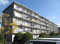 膳所ハイツ9号棟402号室[4階]の外観