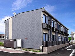 兵庫県明石市魚住町金ヶ崎宮ノ前の賃貸アパートの外観