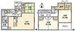 [一戸建] 埼玉県越谷市レイクタウン9丁目 の賃貸【/】の間取り