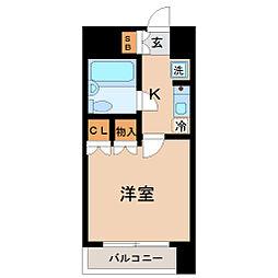 ラ・レジダンス・ド仙台[10階]の間取り