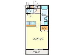 リジェール21[3階]の間取り