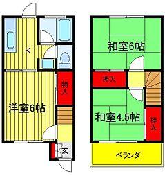 [一戸建] 千葉県流山市西初石4丁目 の賃貸【/】の間取り