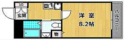 牧野駅前TNビル[4階]の間取り