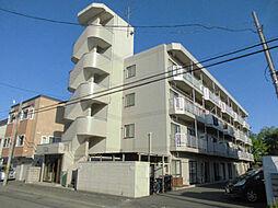 北海道札幌市東区北二十一条東10丁目の賃貸マンションの外観