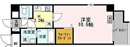 JR東海道・山陽本線 摂津本山駅 徒歩10分の賃貸マンション 1階1Kの間取り