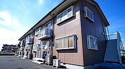 埼玉県行田市大字持田の賃貸アパートの外観