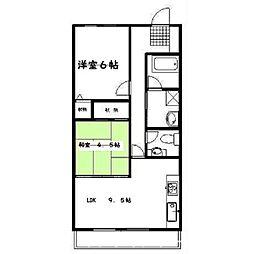アイユール21[3階]の間取り