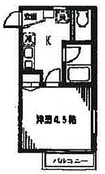 メゾンSAM[2階]の間取り