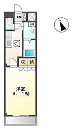 高松琴平電気鉄道琴平線 太田駅 徒歩30分の賃貸マンション 1階1Kの間取り