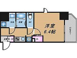 Core本町[13階]の間取り