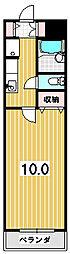 メゾンOKUMURA[1階]の間取り