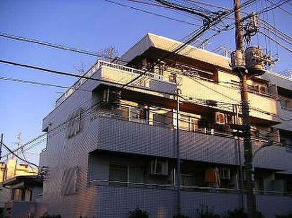 東京都中野区上高田5丁目の賃貸マンションの外観