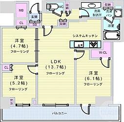 西大橋駅 25.5万円