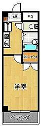 サンロイヤル[302号室]の間取り